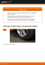 Mudar Amortecedores traseiro e dianteiro HONDA faça você mesmo - manual online pdf