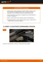 Hátsó fékbetétek-csere Honda CR-V II gépkocsin – Útmutató