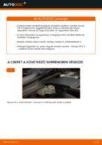 Hogyan cseréljünk első és hátsó Fékdob Renault Laguna 1 - kézikönyv online