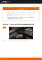 A Csapágy Tengelytest cseréjének barkácsolási útmutatója a ROVER 200 -on 1999