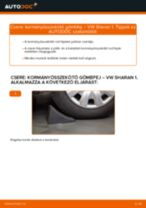 VW SHARAN hibaelhárítási szerelési kézikönyv