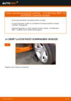 Kormányösszekötő gömbfej-csere Ford Mondeo BWY gépkocsin – Útmutató