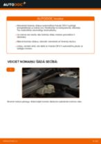 Kā nomainīt: aizmugures bremžu klučus Honda CR-V II - nomaiņas ceļvedis