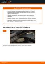 HONDA gale ir priekyje Stabdžių diskas keitimas pasidaryk pats - internetinės instrukcijos pdf