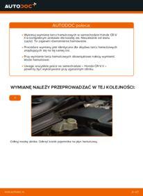 Jak przeprowadzić wymianę: Tarcza hamulcowa w HONDA CR-V