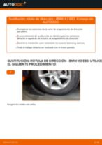 Manual de instrucciones BMW X3