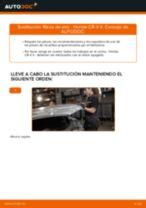 Cambiar Filtro de Aire HONDA CR-V: manual de taller