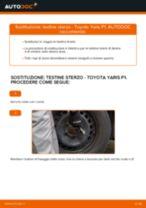Come cambiare testine sterzo su Toyota Yaris P1 - Guida alla sostituzione