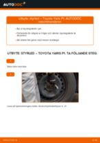 Bilmekanikers rekommendationer om att byta TOYOTA Toyota Yaris p1 1.4 D-4D (NLP10_) Hjullager