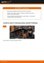 Kuinka vaihtaa pyöränlaakerit eteen Audi A6 C5 Avant-autoon – vaihto-ohje