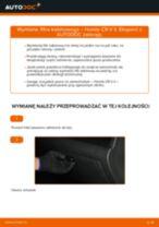 Jak wymienić filtr kabinowy w Honda CR-V II - poradnik naprawy