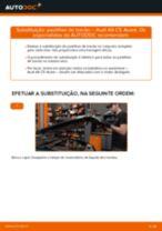 Como mudar e ajustar Calços de travão AUDI A6: tutorial pdf