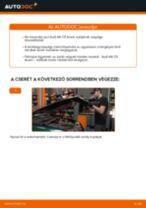 Elülső kerékcsapágy-csere Audi A6 C5 Avant gépkocsin – Útmutató