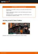 Kaip pakeisti gale ir priekyje Rato guolis AUDI A6 Avant (4B5, C5) - instrukcijos internetinės