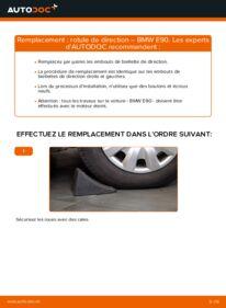 Comment effectuer un remplacement de Rotule De Direction sur 320d 2.0 BMW E90