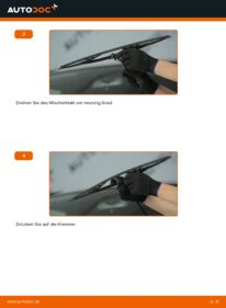 Wie der Wechsel durchführt wird: Scheibenwischer 2.0 (RD4) Honda CR-V II tauschen