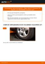 Hoe spoorstangeind vervangen bij een Opel Astra H Caravan – vervangingshandleiding