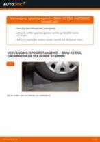 Wanneer Spurstangenkopf BMW X5 (E53) veranderen: pdf tutorial
