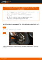 Doe het zelf reparatiehandleiding VW Caddy 4 Kombi