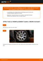 Comment changer : bras inférieur avant sur Audi A6 C5 Avant - Guide de remplacement
