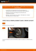 Comment changer : tête de cardan sur VW Caddy 3 van - Guide de remplacement
