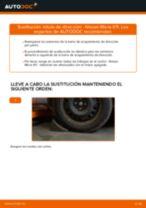 Tutorial de reparación y mantenimiento de Nissan Micra K10