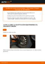 Cómo cambiar: junta homocinética - VW Caddy 3 furgón   Guía de sustitución