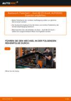 Auswechseln Bremsbacken für Trommelbremse AUDI A6: PDF kostenlos