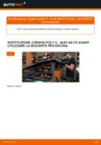 Come cambiare cinghia poly-V su Audi A6 C5 Avant - Guida alla sostituzione