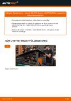 Byta fjäderben fram på Audi A6 C5 Avant – utbytesguide