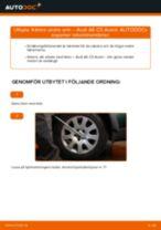 Byta främre undre arm på Audi A6 C5 Avant – utbytesguide