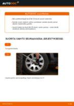 Kuinka vaihtaa pyöränlaakerit taakse Audi A6 C5 Avant-autoon – vaihto-ohje