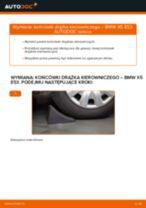 Jak wymienić i wyregulować Zestaw naprawczy, przegub nożny / prowadzący BMW X5: poradnik pdf