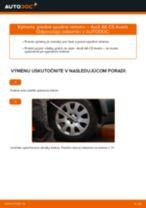 Ako vymeniť predné spodné rameno na Audi A6 C5 Avant – návod na výmenu