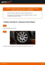 Jak vyměnit přední spodní rameno na Audi A6 C5 Avant – návod k výměně