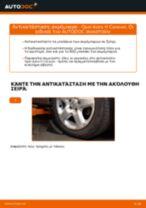 Πώς να αλλάξετε ακρόμπαρο σε Opel Astra H Caravan - Οδηγίες αντικατάστασης