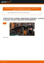 Instalação Bomba de água + kit de correia dentada AUDI A6 Avant (4B5, C5) - tutorial passo-a-passo
