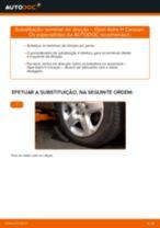 Como mudar terminal de direção em Opel Astra H Caravan - guia de substituição