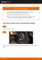 Como mudar ponteira de transmissão em VW Caddy 3 van - guia de substituição