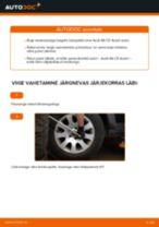 Kuidas vahetada Audi A6 C5 Avant taga-rattalaagri – õpetus
