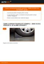 Kormányösszekötő gömbfej-csere BMW X5 E53 gépkocsin – Útmutató