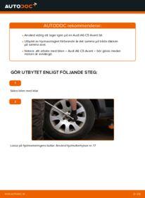 Så byter du Hjullager på 2.5 TDI quattro Audi A6 C5 Avant