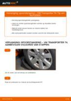 Hoe spoorstangeind vervangen bij een VW Transporter T4 – vervangingshandleiding