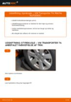 Udskift styrekugle - VW Transporter T4   Brugeranvisning
