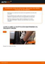 Instalación Rótula barra de dirección MERCEDES-BENZ VITO Bus (W639) - tutorial paso a paso