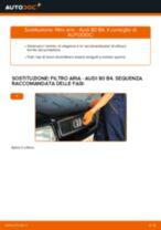 Impara a risolvere il problema con Filtro Aria AUDI