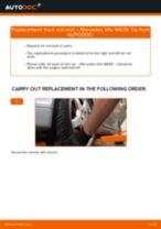 Step by step PDF-tutorial on Brake Drum Subaru E10 replacement