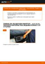 Смяна на Датчик износване накладки на AUDI 80: безплатен pdf