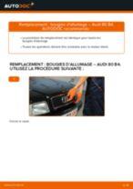 Changement Flexible De Frein AUDI 80 : manuel d'atelier