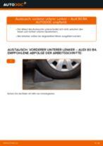 Reparatur- und Servicehandbuch für Audi 80 B1